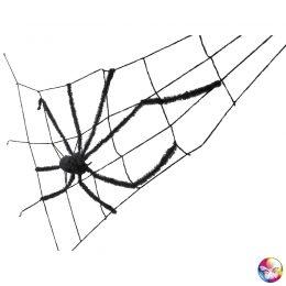 toile d'araignée géante avec araignée de 240 cm