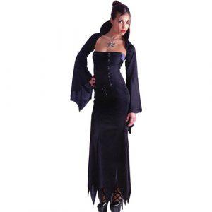 Costume femme sorcière sexy noire