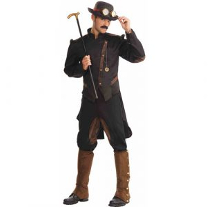 Costume homme gentleman steampunk