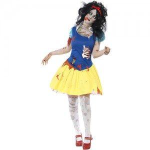 costume femme zombie blanche neige