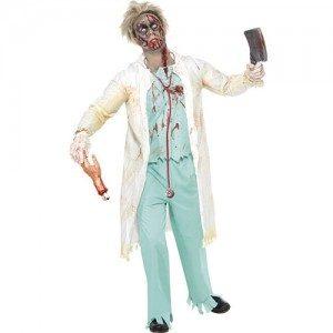Costume homme zombie docteur