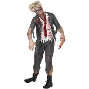 Costume zombie Homme écolier