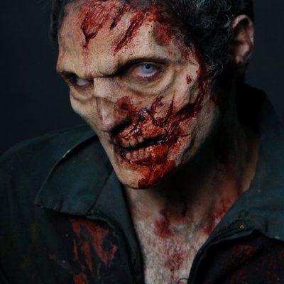 maquillage de zombie