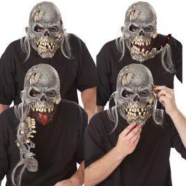 Masque amovible mort vivant