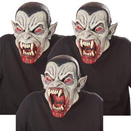Masque articulé vampire endiablé