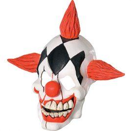 Masque clown rieur terrifiant