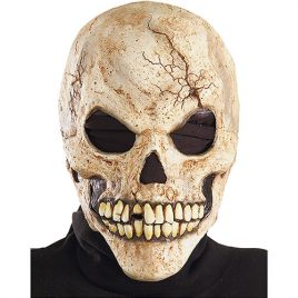 Masque squelette hostile