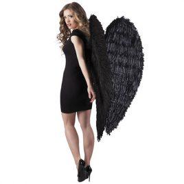 Ailes géantes plumes noires