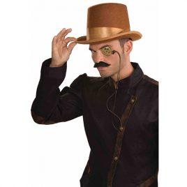Monocle lacet steampunk