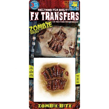 Morsure de zombie Transfert 3D
