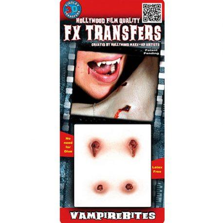 Morsures de vampire Transfert 3D
