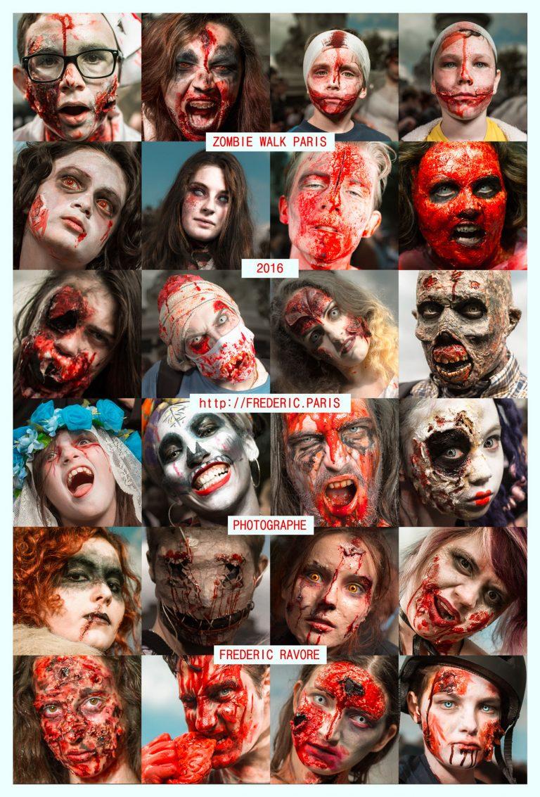 Tutoriels maquillage zombie