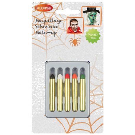 Boite 5 crayons Halloween