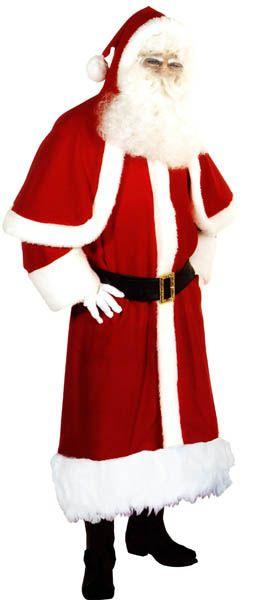 Costume de Père Noël avec petite cape
