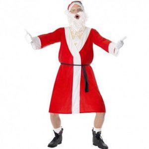 Costume de Père Noël grivois