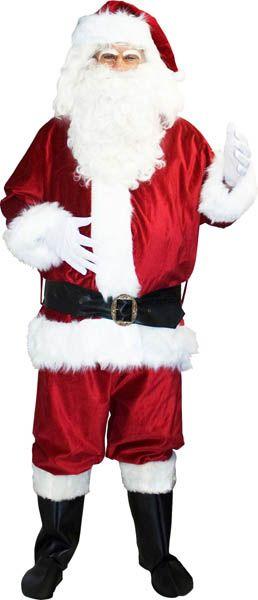 Costume de Père Noël Décembre