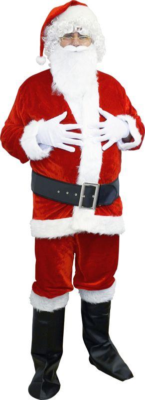 Costume de Père Noël avec pantalon