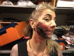 cicatrice halloween