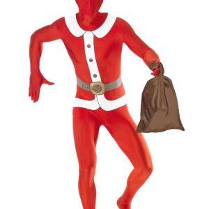 Costume de Père Noël colle à la peau