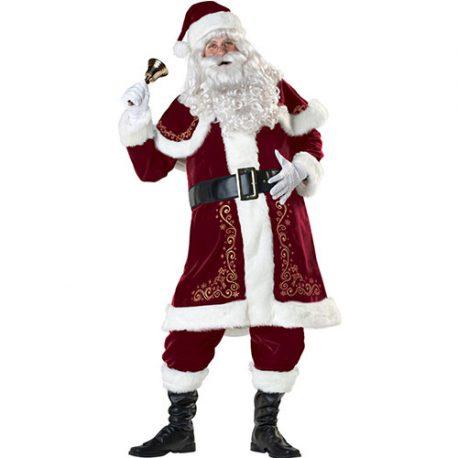 Costume homme père Noël qualité supérieure