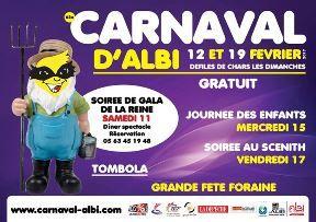 Carnaval de Albi : du 11 Février au 19 Février