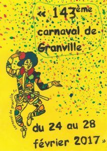 Carnaval de Granville : du 24 Février au 28 Février