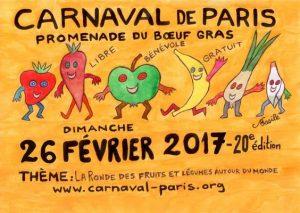 Carnaval de Paris : le 26 Février